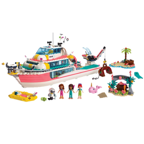 Picture of LEGO Friends Rescue Mission Boat #41381