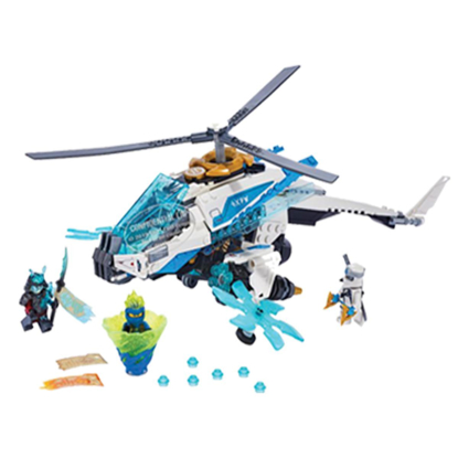 Picture of LEGO Ninjago Shuri Copter– DISCONTINUED – REPLACING WITH LEGO #76898  SPEED CHAMPIONS FORMULA E RACING
