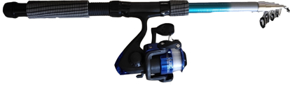 Picture of Telescopic Fishing Rod w/ Reel