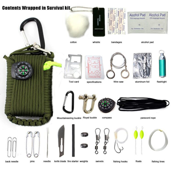 Picture of Emergency Outdoor Survival Kit
