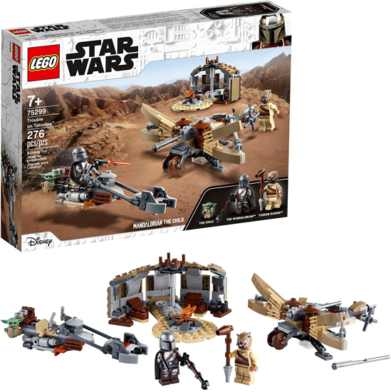 Picture of LEGO Star Wars The Mandalorian Trouble on Tatooine